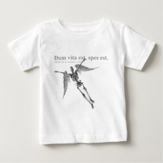 Clothing for teenagers and adults with Latin quote Baby T-Shirt
