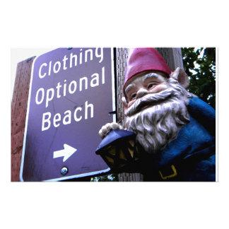 Clothing Optional Stationery
