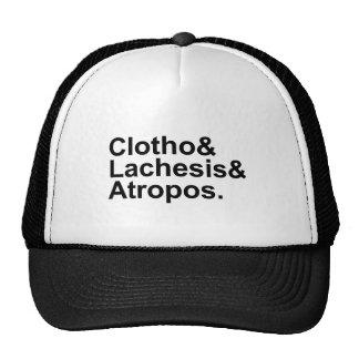 Clotho Lachesis Atropos | 3 Fates of Greek Myth Trucker Hat