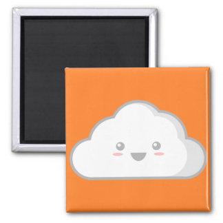 Cloud 2 Inch Square Magnet