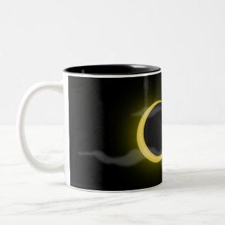 cloud-38060  cloud moon cartoon clouds stars cresc Two-Tone coffee mug