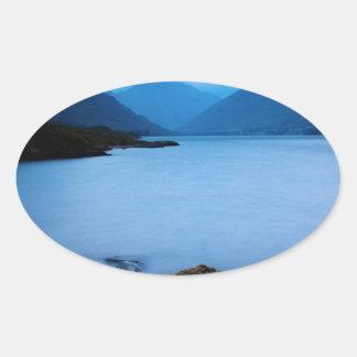 cloud-716 oval sticker