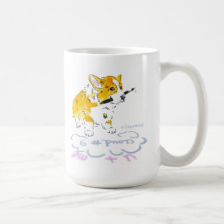 Cloud 9 Corgi Mug