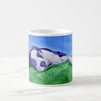 """Cloud 9"" Mixed Breed Dog Mug"