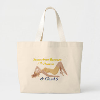 Cloud-9-No-Background - Customized Large Tote Bag