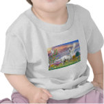 Cloud Angel and Llama Tee Shirts