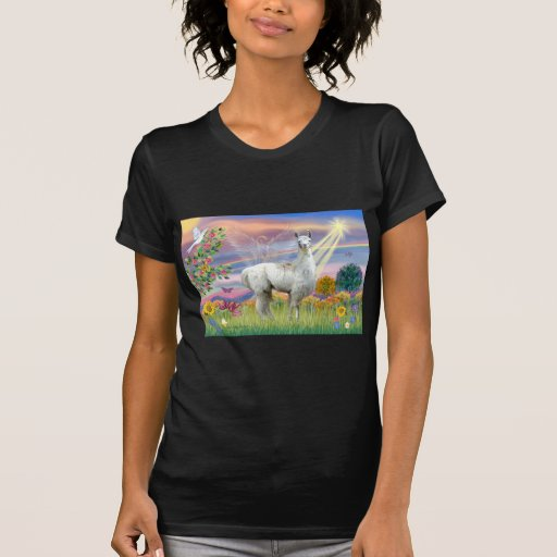 Cloud Angel and Llama Tshirts