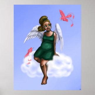 Cloud Angel Poster