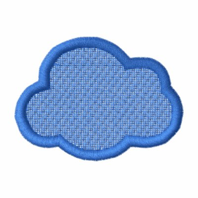 Cloud Applique/ Background