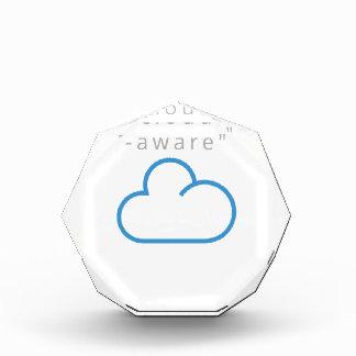 cloud-aware T-Shirts Acrylic Award