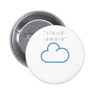 cloud-aware T-Shirts Button