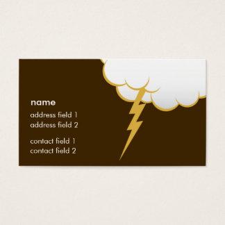 Cloud Bang | Butter Rum Business Card