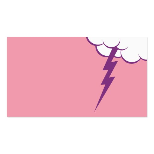 Cloud Bang   Raspbermelon Business Card