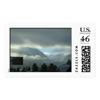 Cloud Break, Mountain view. Dillon Colorado Postage Stamp
