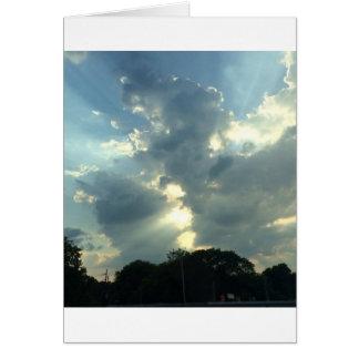 Cloud Burst Card