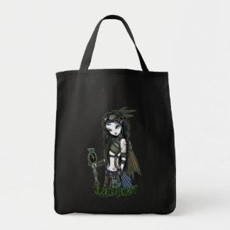 """Cloud Burst"" Steampunk Aviatrix Fairy Tote Bag"