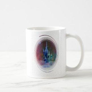Cloud castle confetti coffee mugs