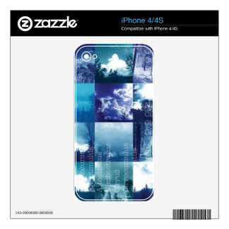 Cloud Catalog iPhone 4S Decal