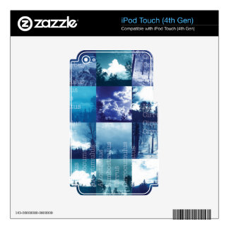 Cloud Catalog Skin For iPod Touch 4G