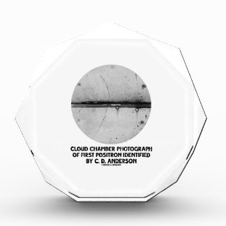 Cloud Chamber Photograph Of First Positron Awards