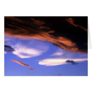 Cloud Color Explosion Greeting Card