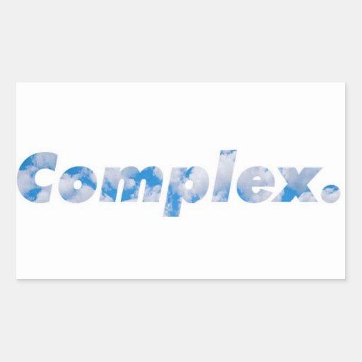 Cloud complex Sticker