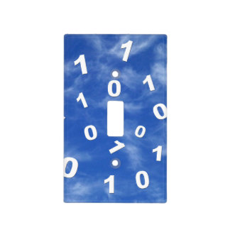 Cloud Computing Data Light Switch Cover