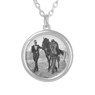 Cloud Computing Preakness Winner Silver Plated Necklace