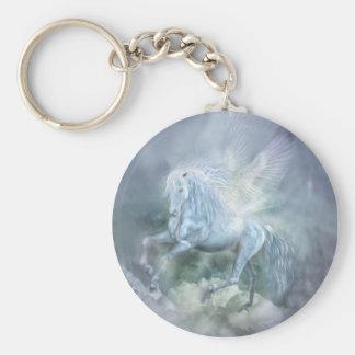 Cloud Dancer Art Keychain