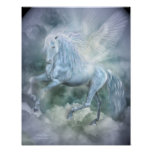 Cloud Dancer Fantasy Art Poster/Print