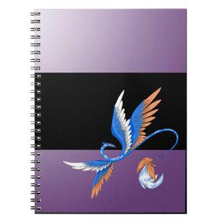 Cloud Dragon Purple Notebook