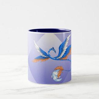 Cloud Dragon Sky Two-Tone Coffee Mug