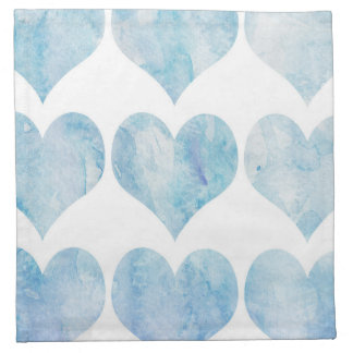 Cloud Filled Hearts Napkin