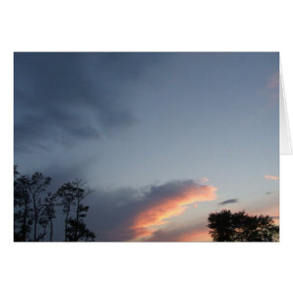 Cloud Fingers Greeting Card