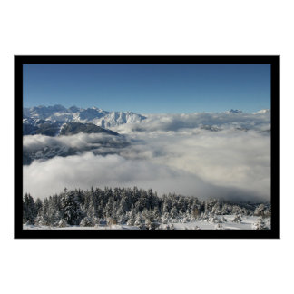 Cloud Forest Christmas Posters