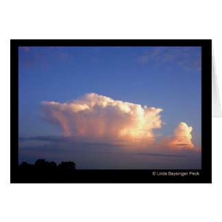 Cloud Formation Card