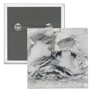 Cloud formation over the Black Sea Pinback Button