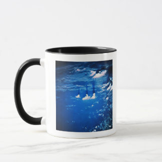 Cloud formation over the earth 2 mug