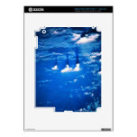 Cloud formation over the earth 2 skins for iPad 3