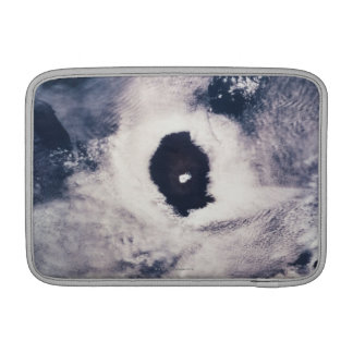 Cloud formation over the earth MacBook air sleeves