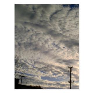 Cloud Formation Postcard