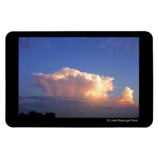 Cloud Formation Rectangular Photo Magnet