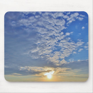 Cloud Formations on top of the Sun Mouse Pad