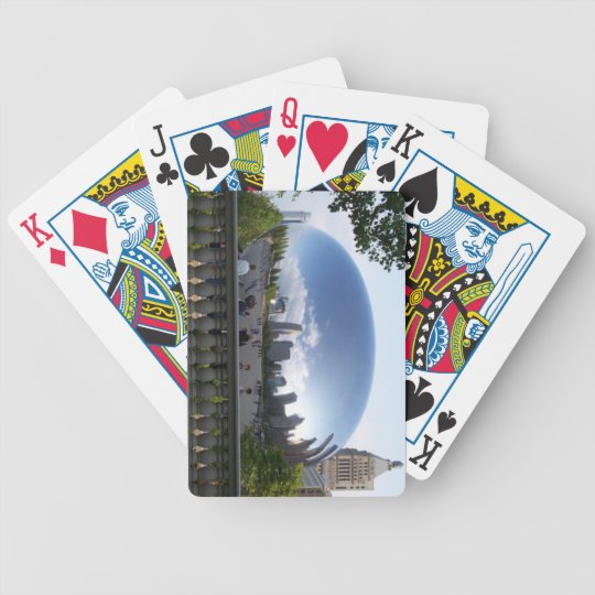 Cloud Gate Bicycle Playing Cards