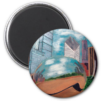 Cloud Gate in Millennium Park Magnet