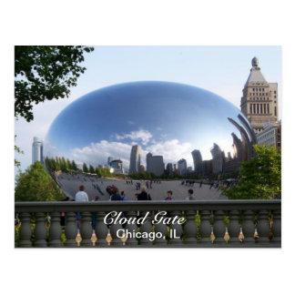 Cloud Gate Postcard
