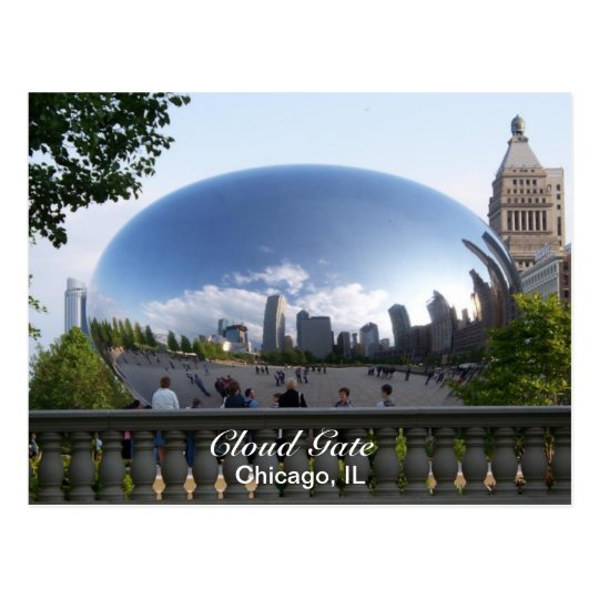 Cloud Gate Postcard