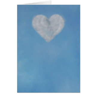 Cloud heart greeting cards