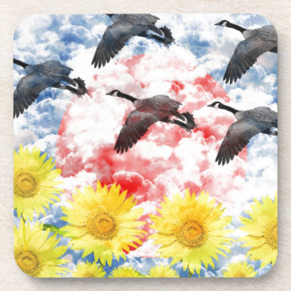 Cloud hidden ri mu drink coaster