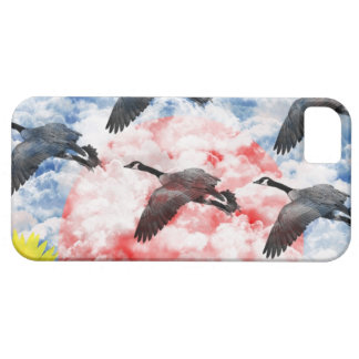 Cloud hidden ri mu iPhone SE/5/5s case